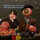 """'프리드로우' 작가 전선욱, 할로윈 맞아 공개한 사진 화제…""""포토존이 강렬하네요"""""""
