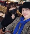 """이현이, '개코 부인' 김수미와 절친 인증...""""얼른 나으렴 친구야"""""""