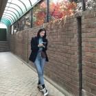 다비치(Davichi) 강민경, 가을 스타일링의 정석…'따라하고 싶은 사복 패션'
