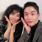 """김정현 아나운서, '섹시 디바' 김완선과 함께한 투샷…""""이 세상 미모가 아니다"""""""