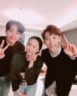 """""""오늘도 덕업일체♥""""…윰댕, '은주의 방' 김재영-윤지온과 행복한 인증샷"""