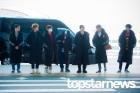 엑소(EXO), '따뜻한 겨울 보내요' (공항패션)