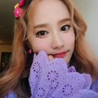 '헤이지니' 캐리언니 강혜진, 보라색도 찰떡 소화하는 미모…나이 믿기지 않는 동안 비주얼