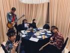 """밴드 크라잉넛(Crying Nut), 日 밴드 도베르만과 공연 앞두고 근황 전해…""""처절한(?) 핸드싱크"""""""
