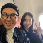 """""""꿀이 뚝뚝""""…구준엽♥오지혜, 핑크빛 셀카 공개"""