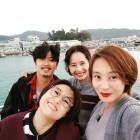 송은이-김부용-강경헌-권민중, 40대 친구들의 훈훈한 셀카