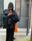 '스타일난다' 김소희 대표, 임신 8개월차 인증샷…'아름다운 D라인'