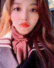 """에이오에이(AOA) 찬미, 날카로운 브이라인 돋보이는 셀카 공개 """"마음 따뜻한 하루"""""""