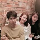 김지석, '톱스타 유백이' 종방연 후 근황은?…'정유미-유인영과 함께'