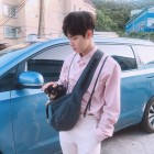 김재환, 댕댕이와 몬모의 조화는 '예스 굿'…'둘다 내꺼 하면 안돼?'