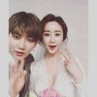 함소원♥진화, 결혼 당시에 찍은 사진 새삼 화제…'18살 나이 차이 무색해'