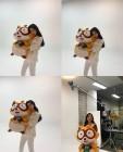 에이핑크(Apink) 손나은, 너구리 인형 들고 귀여운 포즈…'미모는 열일 중'