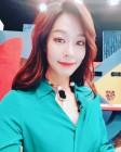 '김진근♥' 정애연, 미모 뽐내며 촬영장에서 한 컷…'두 사람의 나이 차이는?'
