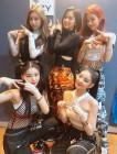 JYP 신인 걸그룹 있지(ITZY) 예지-리아-류진-채령-유나, '엠카운트다운'에서 '달라달라'첫 방송 인증샷 공개