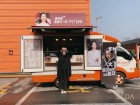 """'해치' 고아라, 김희선에게 받은 커피차 인증…""""선배님 날개 없는 천사 콘셉트"""""""