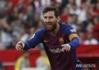 리오넬 메시, 통산 50번째 해트트릭…FC바르셀로나에서만 44회