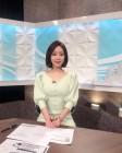 """허영지 언니 허송연 아나운서, 세상 우아한 모습 """"생방송 전 찰칵"""""""