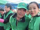 """자유한국당 배현진 """"송파구 오늘 김장합니다"""" 밝은 미소"""