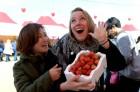 논산 딸기축제, 외국인도 놀란 맛 '이맛이야'