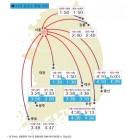 9일 지방방향 고속도로 원활, 서울방향 일부 구간 혼잡