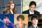박한별 최종훈 용준형 이종현 그리고 정준영