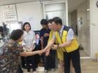고도일병원, 노인복지관 어르신들 보양식 대접