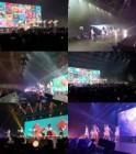 러블리즈 아시아 투어 첫 홍콩 콘서트..'뜨거운 열기'