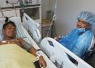 절망에서 희망으로...예수병원 캄보디아 청년에 의료 제공