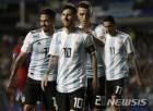 리오넬 메시 평가전 쇼타임, 러시아 월드컵 '두근두근'