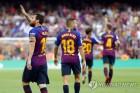 바르셀로나-지로나, 미국서 라리가 '카탈루냐 더비' 성사될까