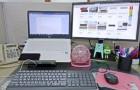 멀티탭으로 사무실 책상 비포&애프터