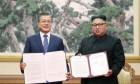 """평양공동선언, 평화당만 """"비핵화 구체적""""…'한국·바른'""""실제적 비핵화 아냐"""" 정의당도 온도차"""