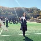 '런닝맨' 강한나, 촬영 인증샷 한 컷...단아한 美모 뽐내는 그녀 '눈길'