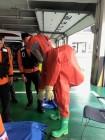 마산소방서 위험물 저장·처리시설 합동소방 훈련