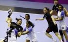 여자 핸드볼, 인도 꺾고 2연승... 아시안게임 2연패 향해 순항