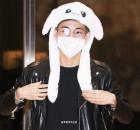 방탄소년단(BTS) 뷔, '뽀짝모자가 부러워지는 이 순간 아미맘 내맘?'