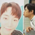 '갈릴레오 깨어난 우주' 닉쿤, 준호 커피차 인증…준호 가판대 향해 뽀뽀까지 '눈길'