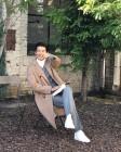 """'이하늬♥' 윤계상, 근황 공개 """"지금 내 마음 광대승천♥""""…잘생긴 외모 '팬심 저격'"""