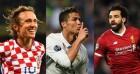 'UEFA 올해의 선수' 최종 후보는 호날두-모드리치-살라···메시는 탈락
