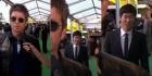 FIFA 어워즈에서 '맨시티 광팬' 노앨 갤러거 뒤로 깜짝 등장한 '맨유 레전드' 박지성