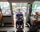 휠체어 이용 장애인도 '고속버스' 타고 고향 갈 수 있을까… 시승식 열렸다