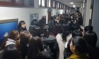 충북교육청 수백명 항의 방문