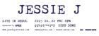 위메프, '제시 제이 첫 내한 공연' 스탠딩석 단독 판매