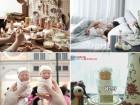특별한 신생아 출산선물,아이와 꼭 닮은 뱃복이 인형 눈길