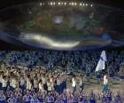 45억 아시아인의 축제 '2018 아시안게임' 개막ㆍ역대 11번째 남북 공동입장…韓 6회 연속 종합2위 도전