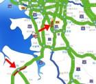 고속도로교통상황-경부고속도로/영동고속도로/천안논산고속도로/서해안고속도로 일부구간 심한 정체…버스전용차로제 시행