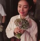 """'백일의 낭군님' 남지현, 도경수에 받은 꽃다발 인증… """"무슨 일이여"""""""