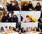 아이즈원 미야와키 사쿠라·야부키 나코·혼다 히토미, 핫도그 구매… 겨울 간식 먹방 V라이브로 일상 공유