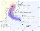 태풍 솔릭 한반도 관통 22일 서귀포 해상... 초속 40m 강한 비바람 동반