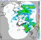 기상청 예보 백두산날씨 낮 4도 서울 23도 대구 24도 이틀간 제주 30∼80㎜, 남부 중부 5∼20㎜